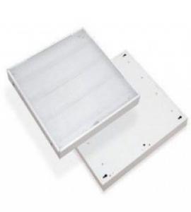 Светодиодная квадратная панель Призма (опал )-36 (595x595х20)