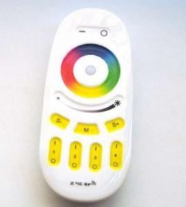 Сенсорный пульт для контроллера RGB+W и RGB (4 зоны)