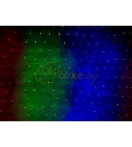 Светодиодная гирлянда Сеть 2х1,5м, RGB 240 LED Артикул: 75437
