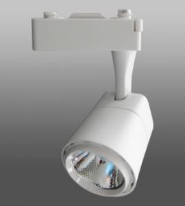 0.1.1 Светодиодный трековый светильник LED 10W 114 (10W, однофазный, белый корпус)