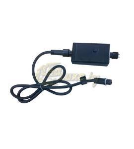 Контроллер для гирлянд со светодинамикой (чейзинг) на 4 выхода, 150W Артикул: 75452