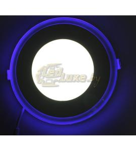 Светодиодная панель Синий Круг 12W: 160x160mm, (стекло) Артикул: 91102