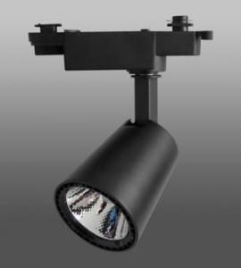 0.1.3 Светодиодный трековый светильник 10W 103 Black (10W, однофазный, черный корпус)