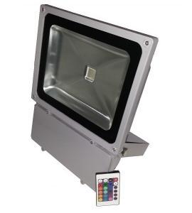 Светодиодный прожектор 90W, IP65, RGB