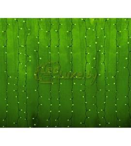 Светодиодная гирлянда Дождь 2х1,5м, 192 LED, 220V (на прозрачном проводе) Артикул: 75330