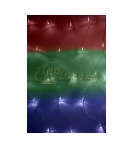 Светодиодная гирлянда Сеть 180 LED 1,8х1,5м, белое свечение, RGB Артикул: 75427