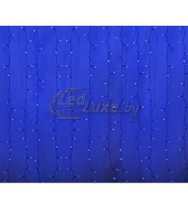 Светодиодная гирлянда Дождь 2х1,5м, 192 LED, 220V (на прозрачном проводе) Артикул: 75328