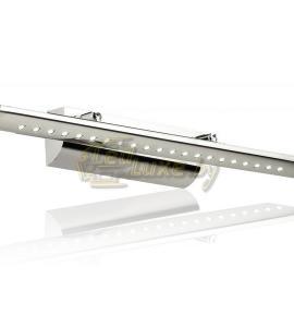 Светильник 7W silver для подсветки зеркал, картин (овальный профиль) Артикул: 39088