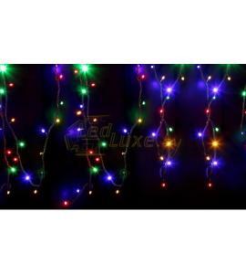 Светодиодная уличная гирлянда 12м, 120 LED, 220V, RGB Артикул: 75505