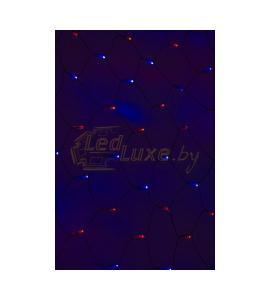 Светодиодная гирлянда Сеть сине-красная 2х0,7м, 176 LED Артикул: 75433