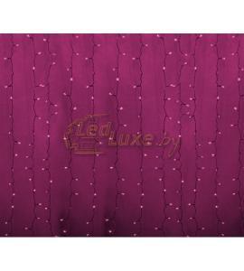 Светодиодная гирлянда Дождь 2х1,5м, 192 LED, 220V (на прозрачном проводе) Артикул: 75324