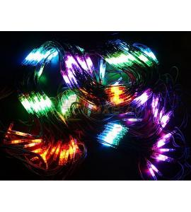 Гирлянда Чейзинг со светодинамикой, RGB свечение 2х3м, 432 LED Артикул: 75448