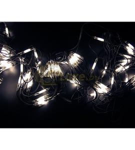 Гирлянда Чейзинг со светодинамикой, Белое свечение 2х3м, 432 LED Артикул: 75446