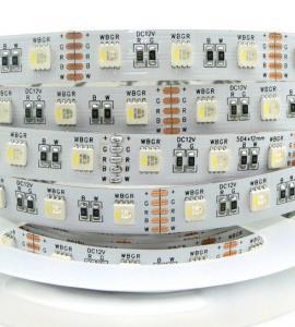 2.0 Светодиодная лента RGB-W  SMD 5050, IP33, 12V (60 диодов на метр)
