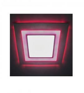 Светодиодная панель S-16WR квадрат (стекло) Артикул: 2551АЛ