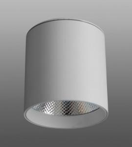 Светодиодный накладной светильник M-178 (25W, белый, черный корпус) 73918