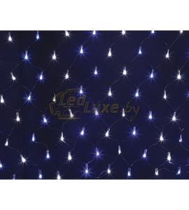 Светодиодная гирлянда Сеть сине-белое свечение 2,5х2,5м, 432 LED Артикул: 75439