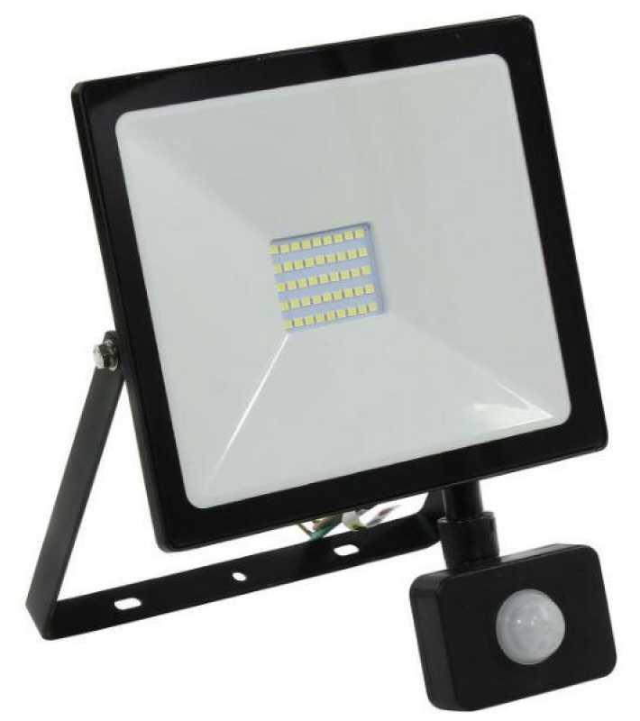 Светодиодный прожектор с датчиком SB SMD-30Вт, 220V, IP65