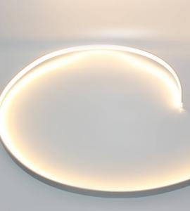 1.2 Накладной гибкий алюминиевый профиль с экраном (98023)