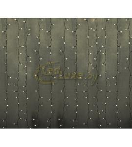 Светодиодная гирлянда Дождь 2х1,5м, 360 LED, 220V (на прозрачном проводе) Артикул: 75323