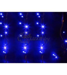 Светодиодная уличная гирлянда 12м, 120 LED, 220V Синее свечение Артикул: 75502