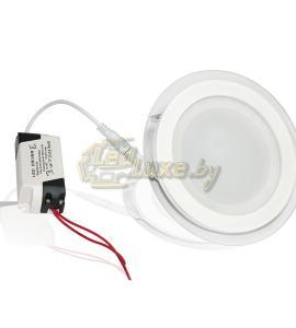 Светодиодная панель 12W: 160x160mm, круг (стекло) Артикул: 02877