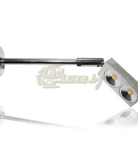 Светодиодный светильник для витрин ML 2х1W Артикул: 92403
