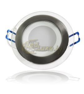 Светодиодная панель 6W: 120x120mm, круг (стекло) Артикул: 11722