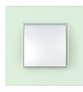 Рамка Unica Quadro матовое стекло