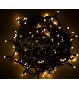 Светодиодная уличная гирлянда 12м, 120 LED, 220V Белое свечение Артикул: 75496