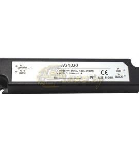 Блок питания для светодиодных лент 24-20 (24V, 20W, 0.8A, IP67)
