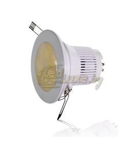 Светодиодный потолочный светильник 10GU (диммируемый) Артикул: 11605