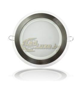 Светодиодная панель 15W: 200x200mm, круг (стекло) Артикул: 11730