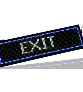 Светодиодный дисплей (бегущая строка) белого цвета, IP33 (70х20х5 см) Артикул: 22096