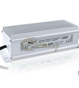 Блок питания для светодиодных лент 24-60C (24V, 60W, 2.5A, IP67)