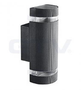 Светильник настенный GTV  (двунаправленный) SILVA, IP54, черный