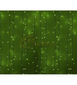 Светодиодная гирлянда Дождь 2х1,5м, 360 LED, 220V (на белом, темно-зеленом или прозрачном проводе) Артикул: 75304