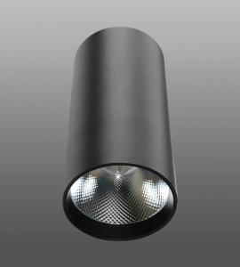 Накладной светодиодный светильник M-184 (25W, черный, белый корпус) 73924