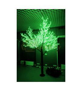 Светодиодное дерево Сакура 1,5м, IP54, 864 LED Зеленое свечение Артикул: 75908