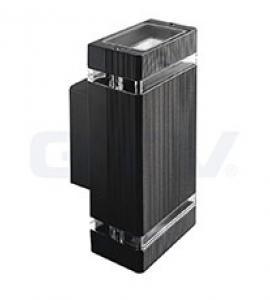 Светильник настенный GTV  (однонаправленный) NESSA, IP54, черный