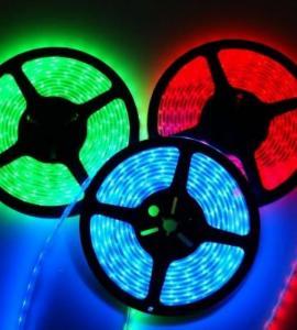 1.5 Герметичная светодиодная RGB-лента SMD 5050, IP68 (60 диодов на метр)