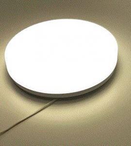 Светильник светодиодный накладной круглый 20 w, 4000К, IP 20 металл, T.E.
