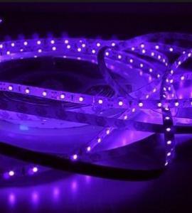 УФ светодиодная лента 3528, 600 LED, IP33