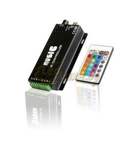 RGB-аудиоконтроллер Music IR-120 (144 - 288 W)