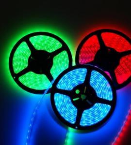 1.8 Влагозащищенная светодиодная RGB-лента SMD 5050, IP65 (60 диодов на метр) 24V