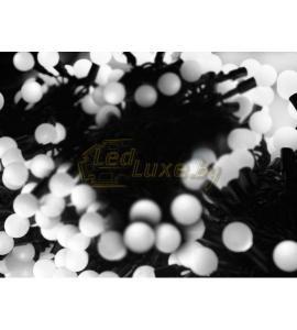 Светодиодная уличная гирлянда Клип-лайт Шарики 3х20м, 399 LED, 24V Артикул: 75530