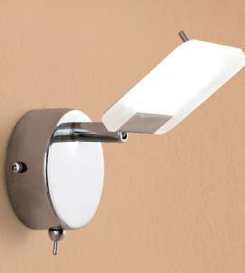 Настенный светильник Стив Хром LED CL550511