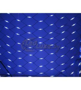 Гирлянда Чейзинг со светодинамикой, Сине-Белое свечение 2х1,5м, 288 LED Артикул: 75442