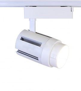Светодиодный светильник трековый GD001 ФОКУС 15-60 (30W, 220V, 15-60deg, белый корпус) 48858