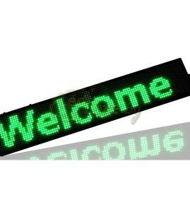 Светодиодный дисплей (бегущая строка), зеленого цвета , IP33, 50W (100х20х5 см) Артикул: 22097